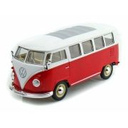 Метална кола 1962 Volkswagen Classical Bus 1/24 Welly