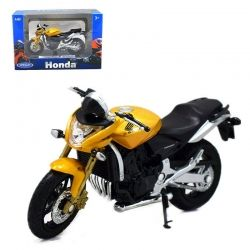 Пистов мотор 2007 Honda Hornet Welly мотоциклет 1:18