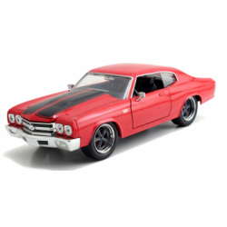 Метален автомобил Fast & Furious Dom's Chevrolet Chevelle SS 1:24 Jada Toys