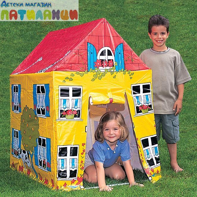 9b30a850599 Детска сглобяема къща/палатка Bestway