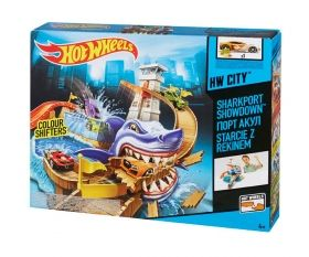Hot Wheels Color Shifters Писта Акула Sharkport Showdown