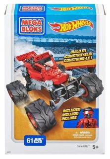 Конструктор Mega Bloks Hot Wheels Monster Truck Червен 61 части