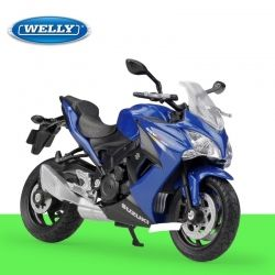 Пистов мотор SUZUKI GSX S1000F Welly мотоциклет 1:18