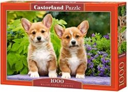 Пъзел Castorland 104659 Welsh Corgi Puppies 1000 части