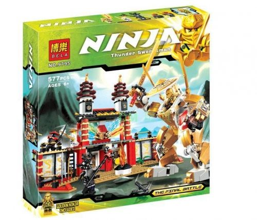 Конструктор NINJA/NINJAGO BELA Ninjago Temple of Light 9795