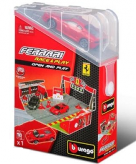 burago Ferrari race & play 1:43 93012